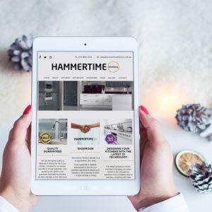 Hammertime Kitchens Website Design