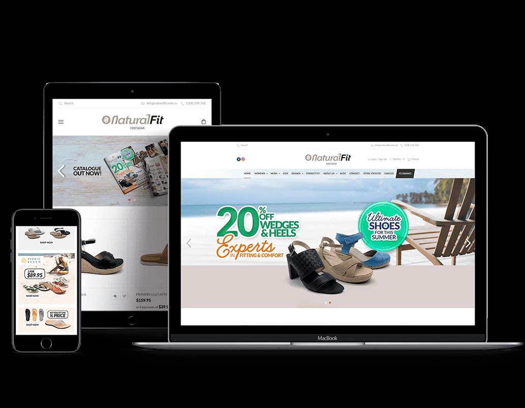 Natural_Fit_Footwear_website_Shopify